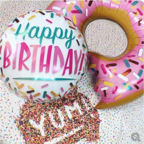 Happy Birthday Foils