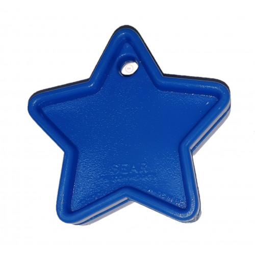 PLASTIC 40GM BALLOON WEIGHT DARK BLUE STARS