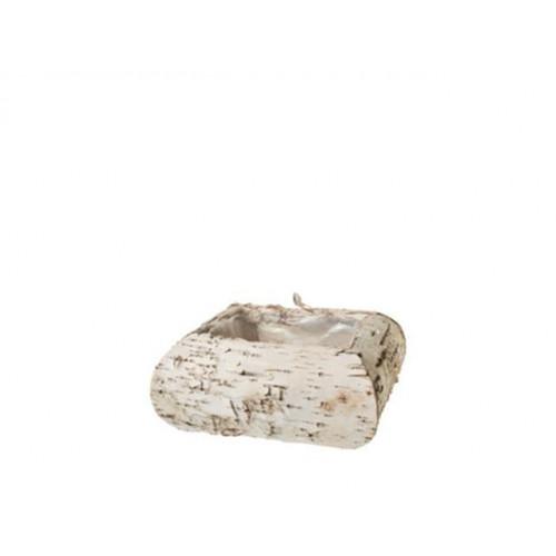 Small Square Birch Basket