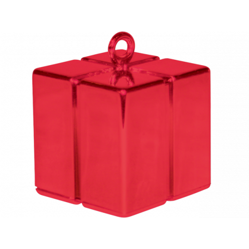 B/WEIGHT GIFTBOX RED 12 PIECES