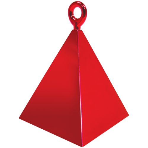 B/WEIGHT PYRAMID RED  12 PIECES