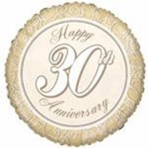 "18"" Pearl Anniversary"