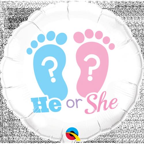 """18"""" He Or She?"""