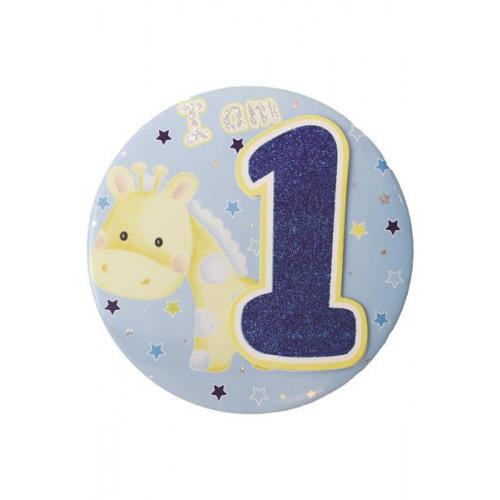 Age 1 Large Badge