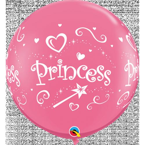 3Ft Latex Rose Pk2 Princess Wrap