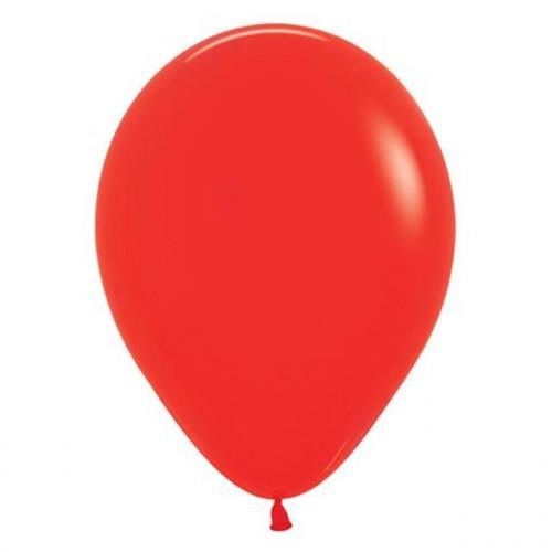 """12"""" Fashion Red Pk50 Latex"""