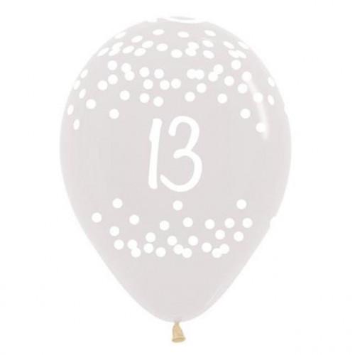 13Th Dots Clear Latex