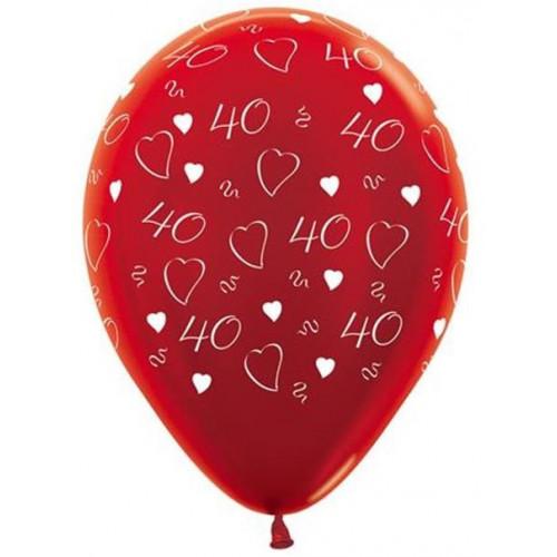 40Th Anni Red Latex