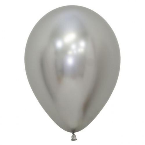 "12"" Ball Reflex Silver Pk50"