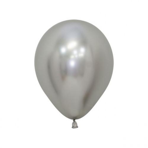 "5"" Ball Reflex Silver Pk50"