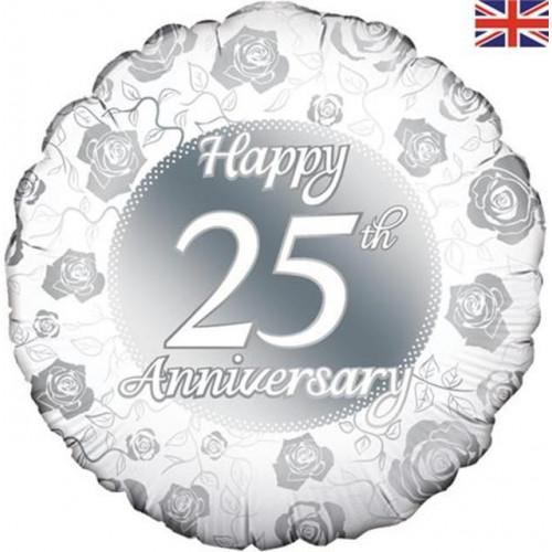 """18"""" Silver Anniversary"""