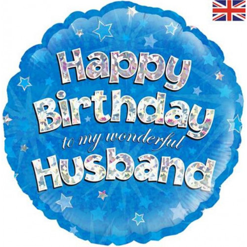 "18"" Birthday Husband"
