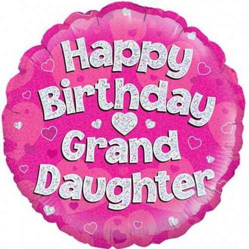 "18"" Birthday Granddaughter"