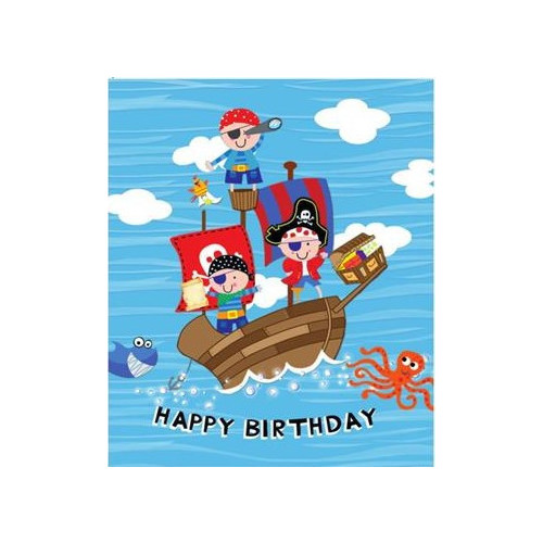 GIFT TAGS 12 PK JUVENILE MALE PIRATE
