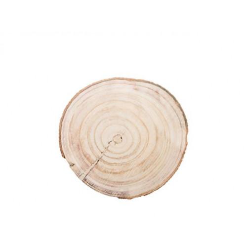Large Wooden Disc Natural