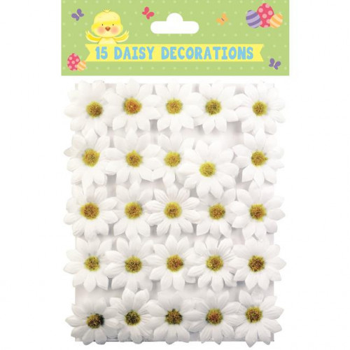 15 Daisy Decorations, Pack Of 12