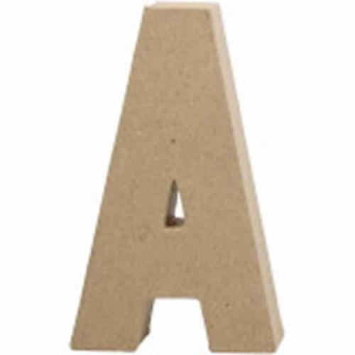 Letter A Cardborad