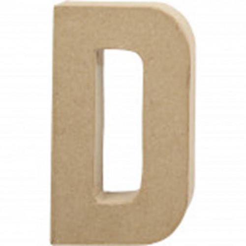 Letter D Cardboard