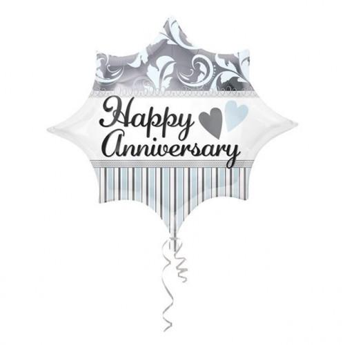 Happy Anniversary Jr Shape