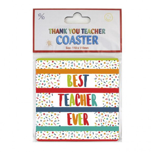 Pk12 Best Teacher Coaster