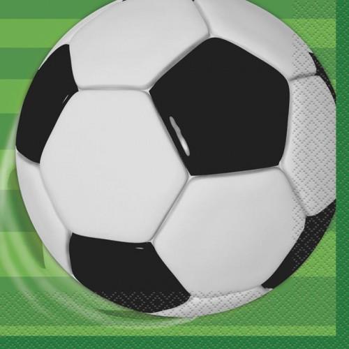 3D Soccer Napkins