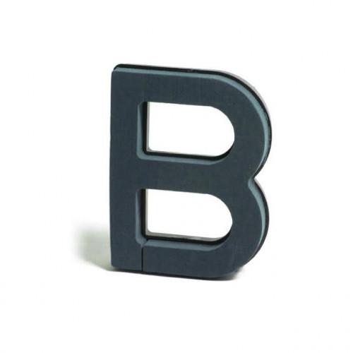 Plastic Backed Letter B 28Cmx22Cm