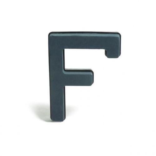 Plastic Backed Letter F 28Cmx22Cm