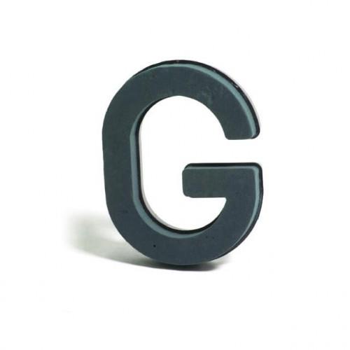 Plastic Backed Letter G 28Cmx22Cm