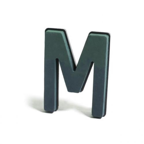 Plastic Backed Letter M 28Cmx22Cm