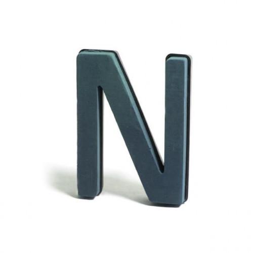 Plastic Backed Letter N 28Cmx22Cm
