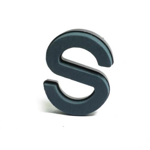 Plastic Backed Letter S 28Cmx22Cm
