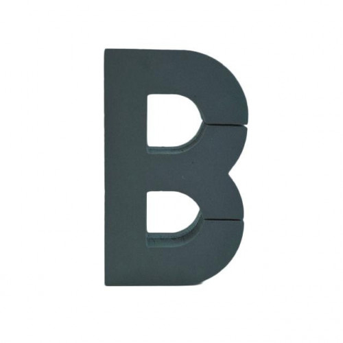 Foam Backed Letter B 30Cmx20Cm
