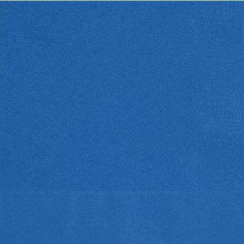 50 ROYAL BLUE LUNCH NAPKINS