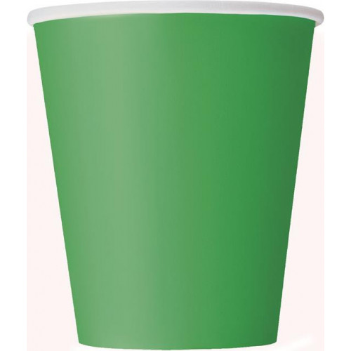 14 EMERALD GREEN 9 OZ CUPS