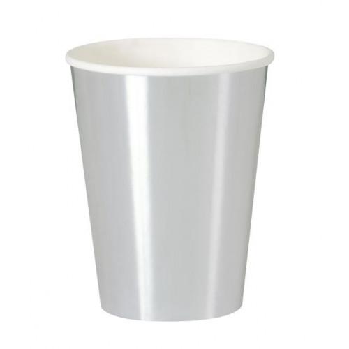 8 SILVER 12OZ CUP-FOIL