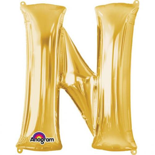 """16"""" FOIL 'N' GOLD BALLOON"""