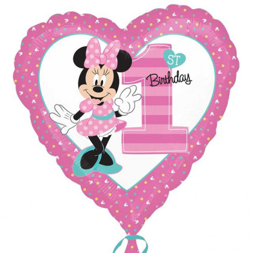 """18"""" Age 1 Minnie Mouse"""