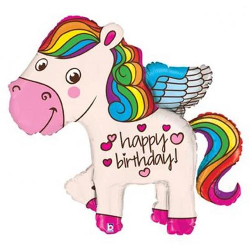 "45"" Birthday Pony Supershape"