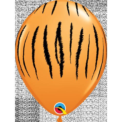 """11"""" Orange Pk25 Tiger Stripes"""