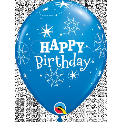 """11"""" Dblue&Robn Egg Pk25 Birthday"""