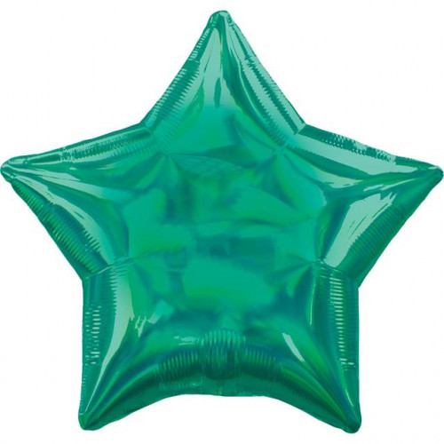 "20"" Iridescent Plain Star"
