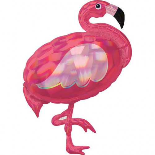 Iri Pink Flamingo Supershape
