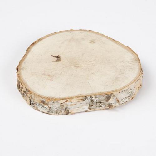 Birch Slice 13-15 Cm 40xPieces