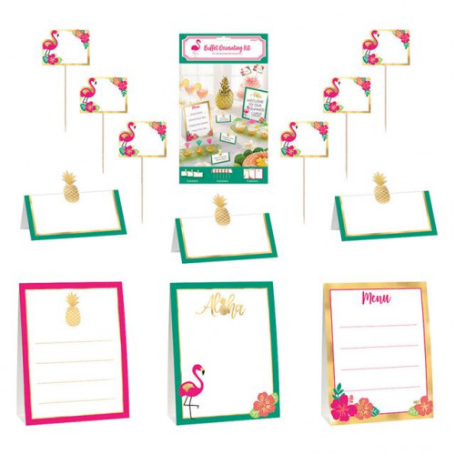 Aloha Buffet Decoration Kit