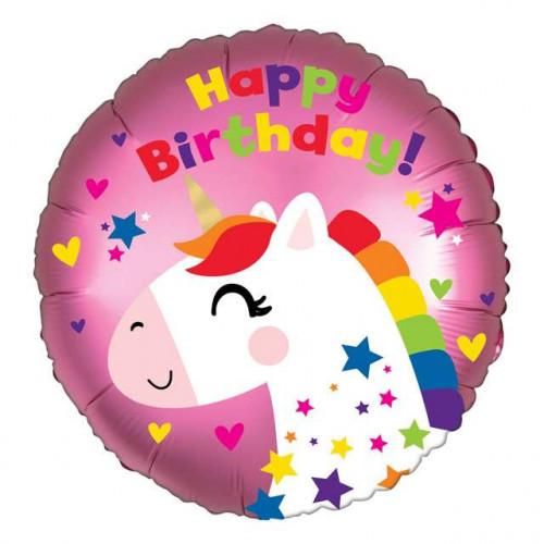 Sd-C: Satin Unicorn Birthday