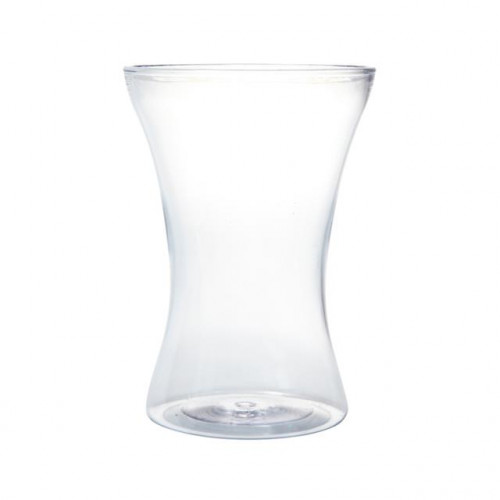 20Cm Acrylic Gathered Vase