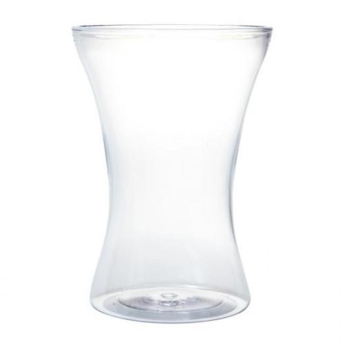25Cm Acrylic Gathered Vase