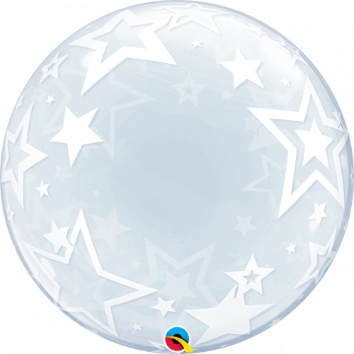 "24"" DECO BUBBLE STYLISH STARS"