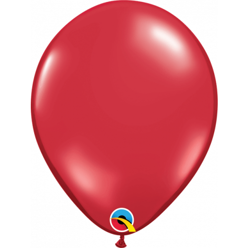 "11"" Ruby Red Pk100 Latex"