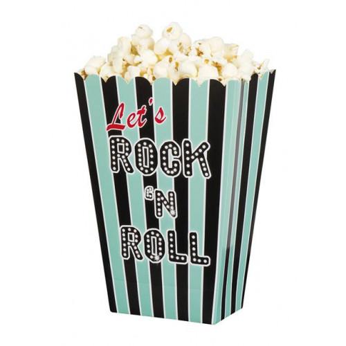 Rock 'N' Roll Popcorn Bowls